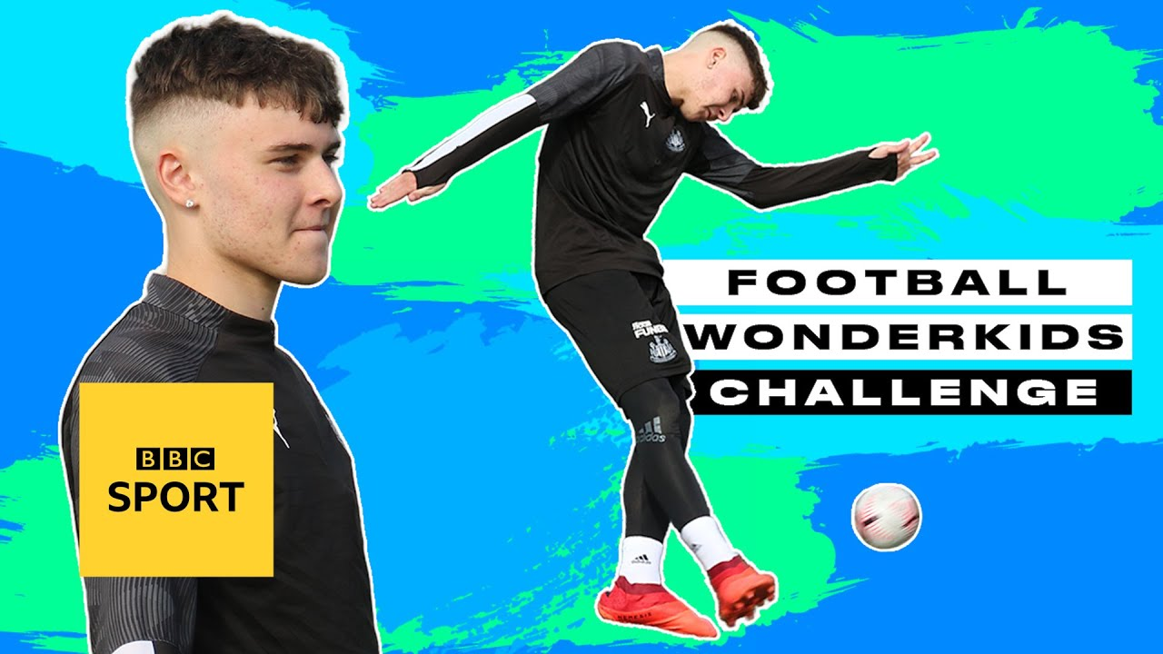 Flairy Newcastle winger Bobby Clark hits top bins! | Football Wonderkids Challenge