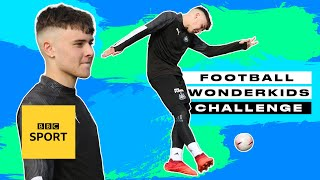 Next up to take our wonderkids challenge is 15-year-old newcastle player, bobby clark, son of legend lee clark. can he pip manchester city's darko ...