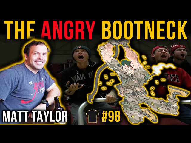 The ANGRY Bootneck! | Matt Taylor Royal Marines | Chris Thrall's Bought The T-Shirt Podcast