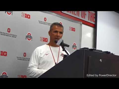 Urban Meyer reacts to NCAA scandal