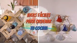 Ideas fáciles para ordenar tu cocina