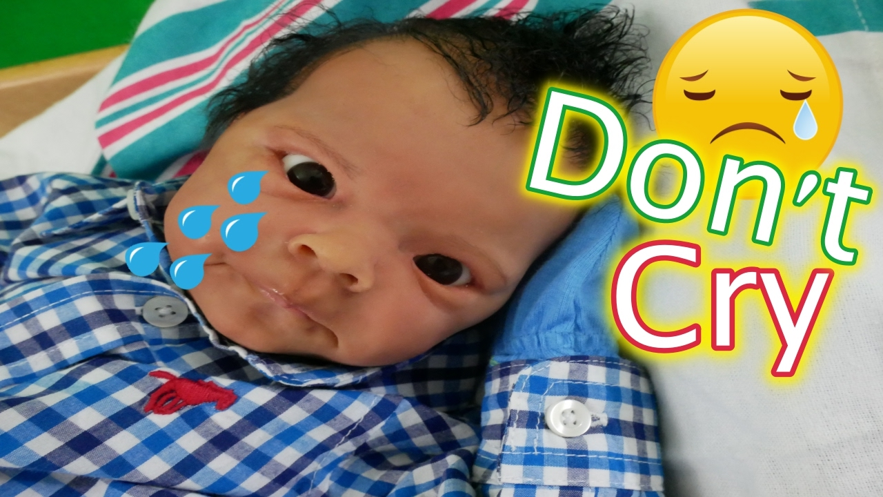 Crying Silicone Baby Doll Morning Routine Reborn Baby
