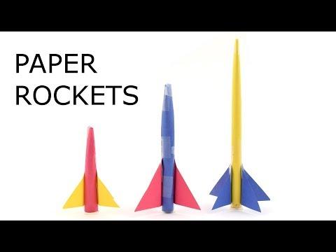 Paper Rockets - STEM Activity