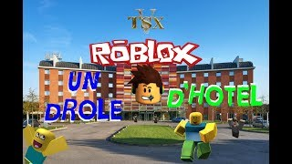 ON CONSTRUIT UN DROLE D'HOTEL !!! ROBLOX FR