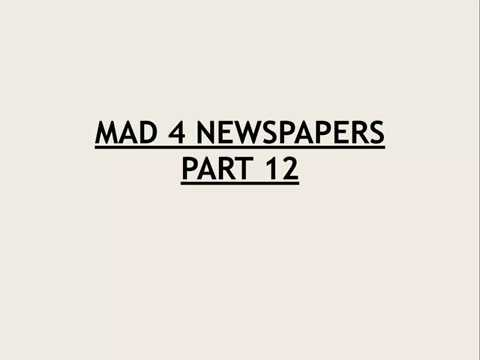 mAD 4 Newspaper for UPSC Mains || Civil services || IAS - Day 12