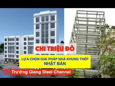 Nhà khung thép tiền chế 8 tầng công nghệ Nhật Bản do Trường Giang Steel tổng thầu!