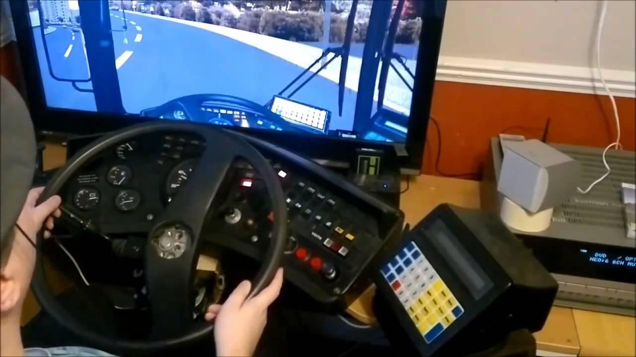 omsi homemade bus dash  gaming