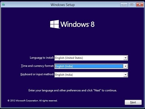 reformat laptop windows 8