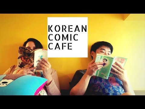 Explore Seoul: We Checked Out A Korean Comic Cafe
