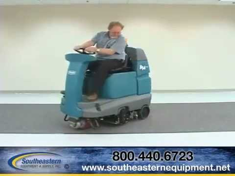 Tennant R14 Carpet Cleaner Video Service Manual