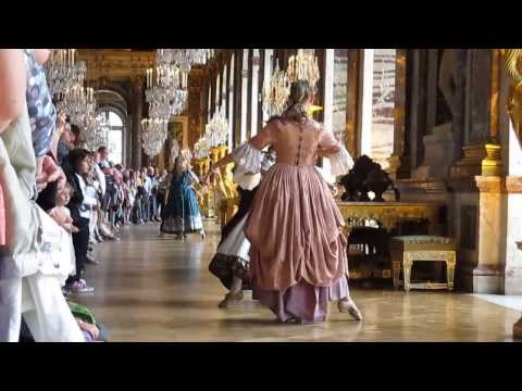 Live music and dance at the Versailles Palace (France)