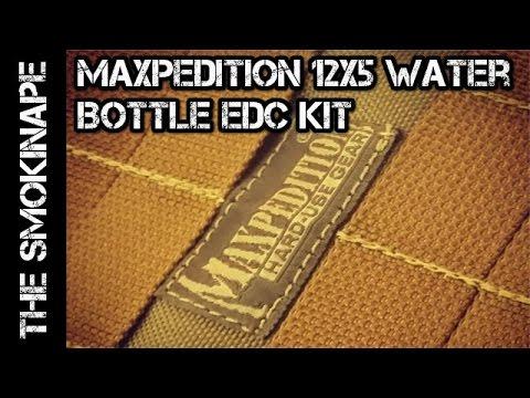Maxpedition 12x5 Bottle EDC Kit Part 1 - TheSmokinApe