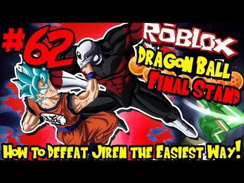 HOW TO DEFEAT JIREN THE EASIEST WAY! | Roblox: Dragon Ball Final Stand - Episode 62