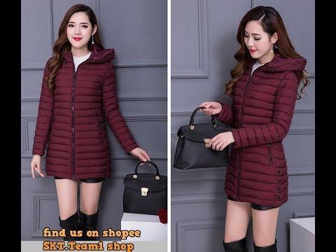 Mẫu áo Rét Nữ Hot Nhất Mùa đông 2019