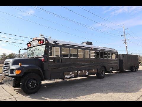 School bus conversion / Walk through