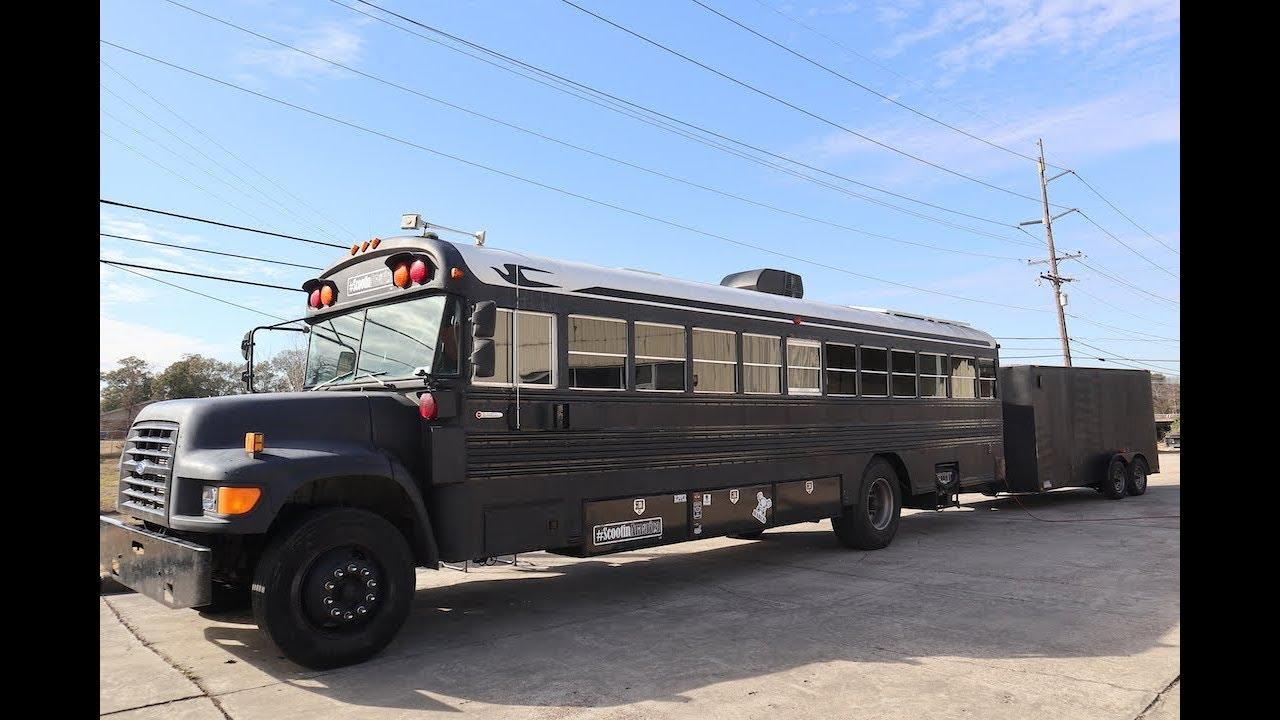 school bus conversion walk through youtube. Black Bedroom Furniture Sets. Home Design Ideas
