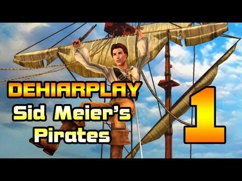 Бороздим моря в Sid Meier's Pirates - 1 серия