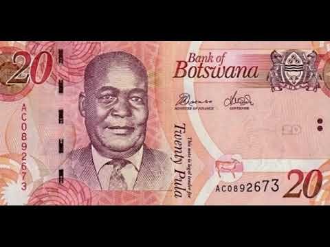 Paper Money Botswana Pula - Botswana - Bills - Bonistika