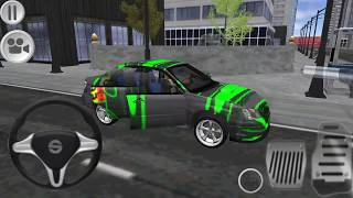 Impreza Driving Simulator #6 New Paint Green Subaru by AG games Android GamePlay [FHD]