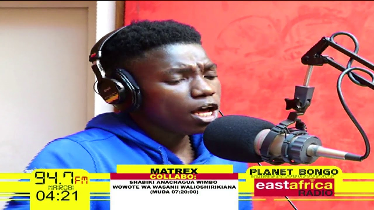 Dakika 10 za Maangamizi - Matrex   Planet Bongo - YouTube