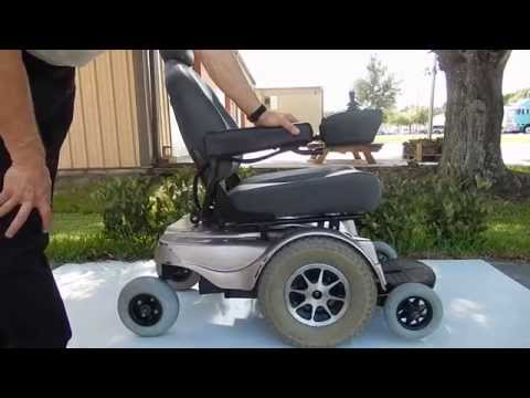 Jazzy 1170 Champange Heavy Duty Power Chair