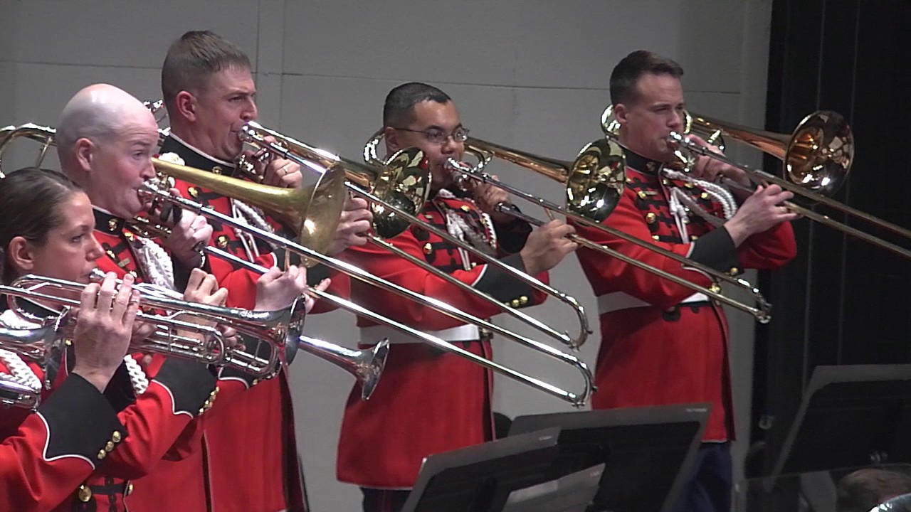 SOUSA The Stars and Stripes Forever - 'The President's Own' U.S. Marine Band