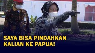Mensos Risma Marahi Pegawainya Saat Tinjau Dapur Umum di Bandung, Ancam Pindahkan ke Papua!