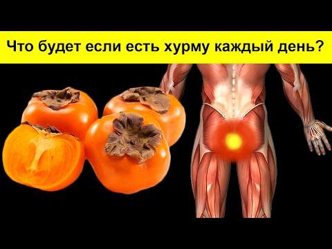 Даже одна ХУРМА вызывает НЕОБРАТИМЫЙ процесс в организме