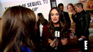 Megan Fox This is 40 Red Carpet Interview Enews