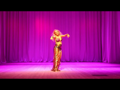 Ekaterina Smolenchuk, gala-show Eurasia-raks festival 2017, Orenburg