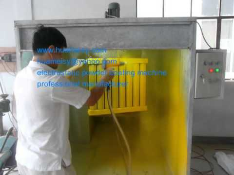 vibrating electrostatic powder coating machine