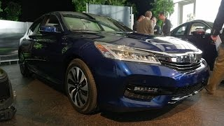 2017 Honda Accord Hybrid Reveal