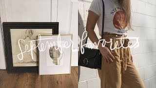 September Favorites 2017 | Gemary