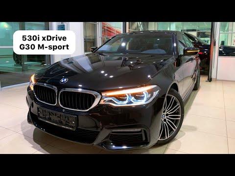 🇩🇪 Презентация BMW 530i XDrive G30 M-sport