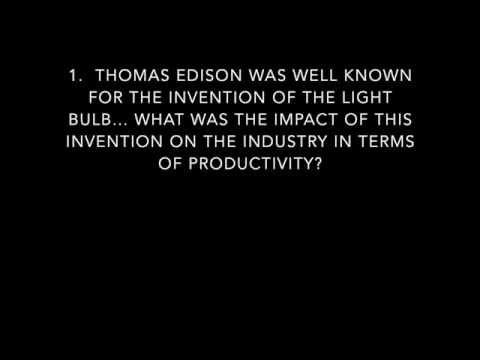 Thomas Edison (Teacher Interview)