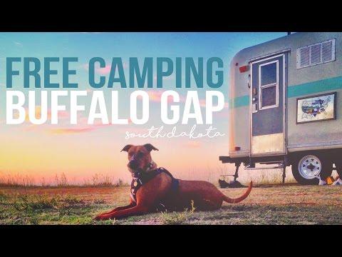 Free Camping at Buffalo Gap National Grassland - a Drivin
