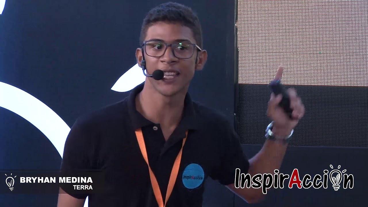 Discursos pronunciados por los finalistas de INSPIRACCION 2018 -  BRYHAN MEDINA