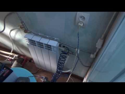 Как слить воду с двухконтурного котла видео