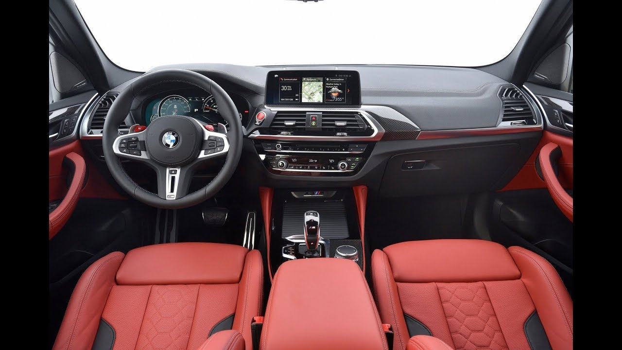 The Interior Design Of Bmw X3 M