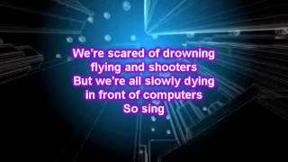 Passenger  - Scare Away The Dark (Lyrics)