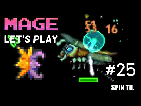 Terraria 1.3 MAGE Let's play: ผีร้ายสุริยุปราคา Solar Eclipse #25