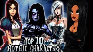 Top 10 GOTHIC CHARACTERS in Video Games - Decadent Gamer