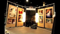 Time Lapse of Bridal Show Booth Setup -- Gregory Byerline Photography