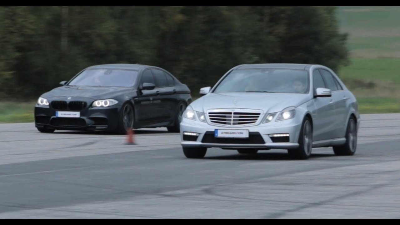 mercedes e63 v8 biturbo performance package vs bmw m5 f10