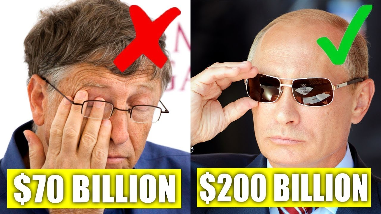 Download TOP 10 People That Make Bill Gates Looks Poor.... You Won't Believe Actually Exist!