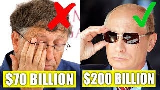 TOP 10 People That Make Bill Gates Looks Poor.... You Won't Believe Actually Exist!