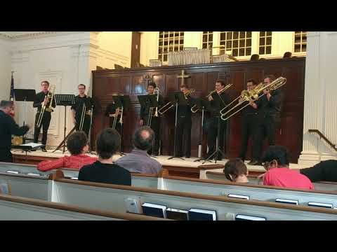 'Lake Effects' by Andrew J. Skaggs performed by 8 trombones