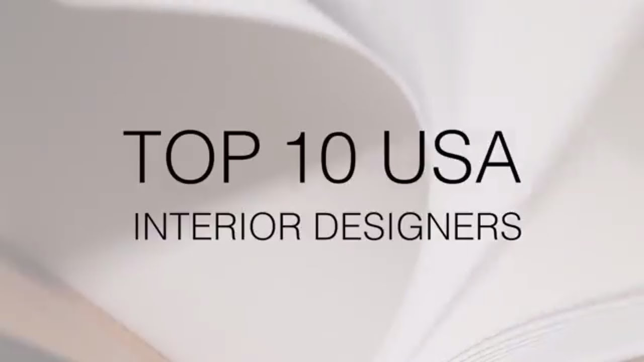 Best USA Interior Designers