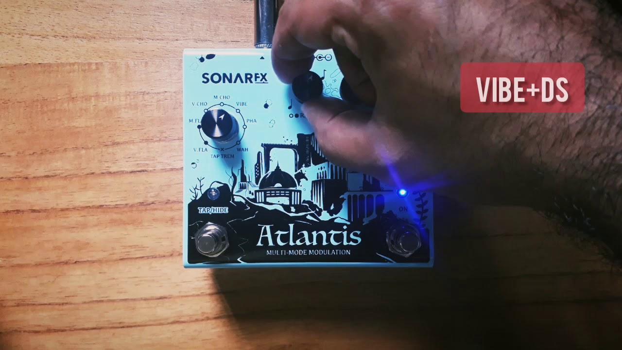 SonAr fx - Atlantis Multimode Modulation - Vibe + Distortion