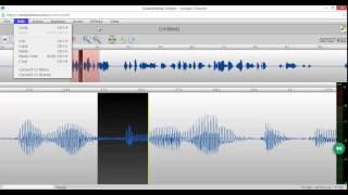 Editar audio sin tener que instalar ningún programa